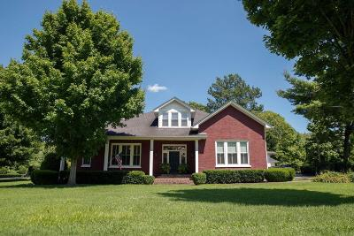 Shelbyville Single Family Home For Sale: 412 Deery St