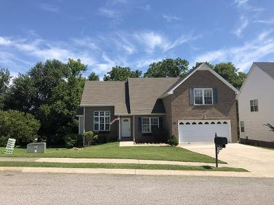 Clarksville Single Family Home For Sale: 3159 Holly Pt