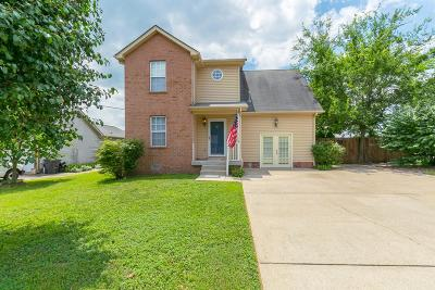 Mount Juliet Single Family Home Under Contract - Showing: 1027 Windtree Trce