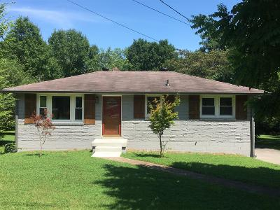 Mount Juliet Single Family Home For Sale: 216 Spring Valley Dr