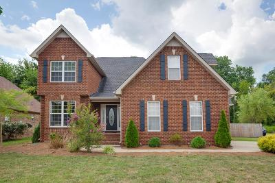 Murfreesboro Single Family Home Under Contract - Not Showing: 166 Red Jacket Trce