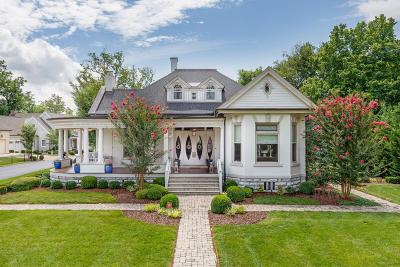 Franklin Single Family Home For Sale: 1009 W Main St