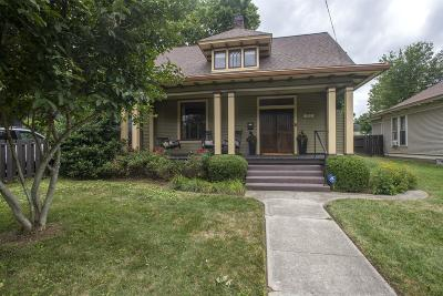 East Nashville Single Family Home Under Contract - Showing: 212 Chapel Ave