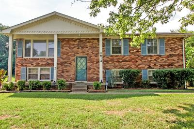 Old Hickory Single Family Home For Sale: 4812 Shasta Dr