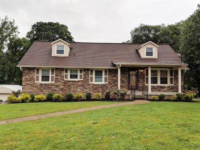Old Hickory Single Family Home For Sale: 4853 Shasta Dr