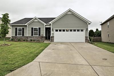 Spring Hill  Single Family Home Under Contract - Showing: 2077 Red Jacket Trce