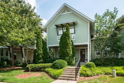 Nashville Condo/Townhouse For Sale: 250 Cherokee Station Dr