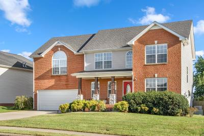 Clarksville Single Family Home For Sale: 3253 Timberdale Dr