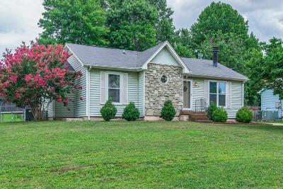 Mount Juliet Single Family Home Under Contract - Showing: 413 Sunset Dr