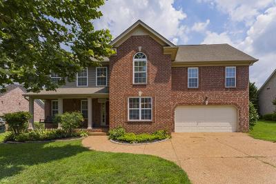 Gallatin Single Family Home For Sale: 656 Fredericksburg Dr