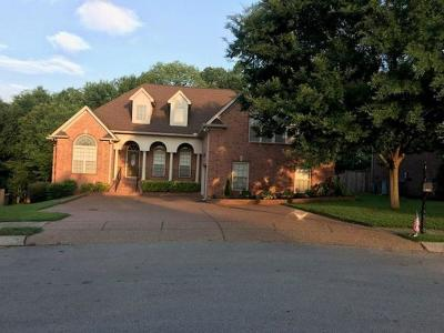 Mount Juliet Single Family Home For Sale: 632 Regent Park Dr