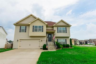 Clarksville Single Family Home For Sale: 3768 Suiter Rd