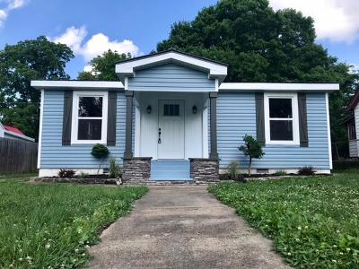 Clarksville Single Family Home For Sale: 747 Greenwood Ave