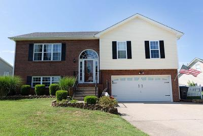Clarksville Single Family Home Under Contract - Showing: 829 Buckhorn Dr