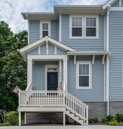 Nashville Single Family Home Under Contract - Showing: 1622 A Branch St