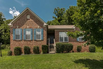 Nashville Single Family Home Under Contract - Not Showing: 4612 Indian Summer Dr