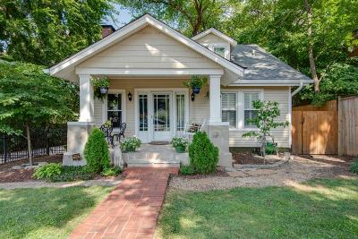 Nashville Single Family Home Under Contract - Showing: 1710 Natchez Trace
