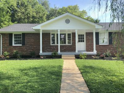 East Nashville Single Family Home Under Contract - Showing: 326 Rosebank