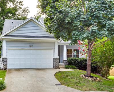 Nashville Single Family Home Under Contract - Showing: 209 Deep Woods Ct.