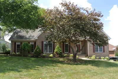 Clarksville Single Family Home For Sale: 400 Tranquill Lane