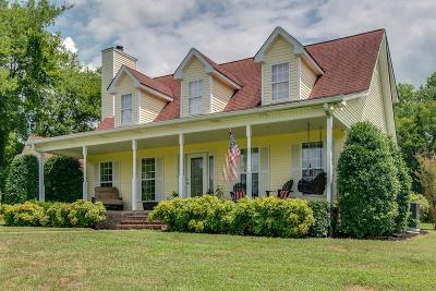 Hendersonville Single Family Home Under Contract - Showing: 1102 Center Point Road