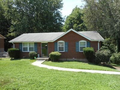 Nashville Single Family Home Under Contract - Not Showing: 4017 Scotwood Dr