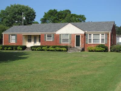Wilson County Single Family Home For Sale: 306 Castle Heights Ave