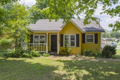 Gallatin Single Family Home Under Contract - Not Showing: 600 Hillcrest Dr