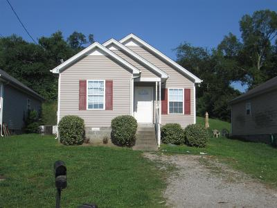 Nashville Single Family Home For Sale: 1513 Luton St