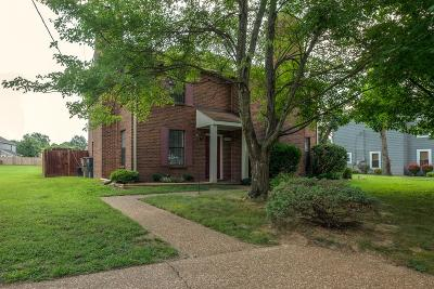 Nashville Single Family Home Under Contract - Showing: 2202 A Cabin Hill Rd
