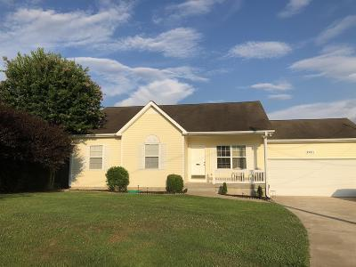 Columbia  Single Family Home For Sale: 2801 Belle Meade Pl