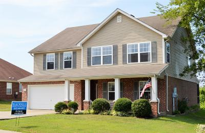 Mount Juliet Single Family Home Under Contract - Not Showing: 2848 Meadow Gln