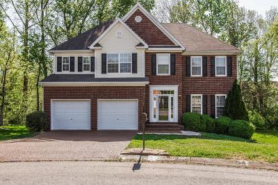 Thompsons Station  Single Family Home For Sale: 1045 Watauga Ct