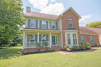 Springfield TN Single Family Home Under Contract - Not Showing: $279,900