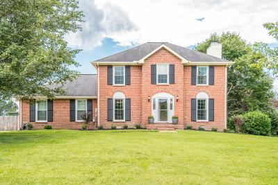 Franklin Single Family Home For Sale: 810 Countrywood Dr