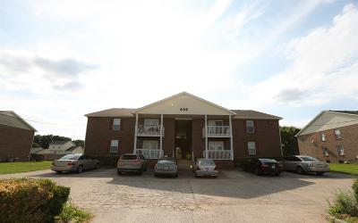 Christian County, Ky, Todd County, Ky, Montgomery County Condo/Townhouse Under Contract - Showing: 402 H Jack Miller Blvd Apt H #H