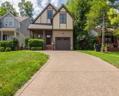 Green Hills Single Family Home For Sale: 1815 B Shackleford Rd
