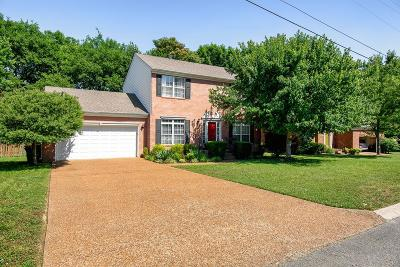 Thompsons Station  Single Family Home For Sale: 2648 Churchill Dr
