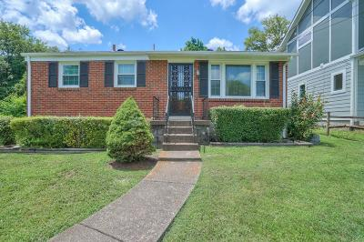 Nashville Single Family Home For Sale: 806 N 6th St