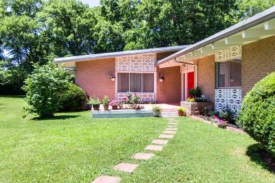 Brentwood Single Family Home For Sale: 5204 Williamsburg Rd