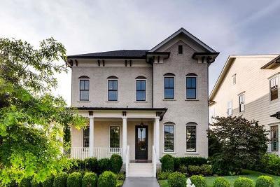 Franklin Single Family Home For Sale: 1001 Oleander St