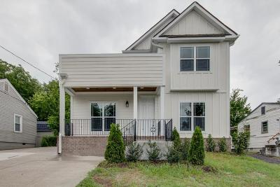Nashville Single Family Home For Sale: 701 Ries Ave