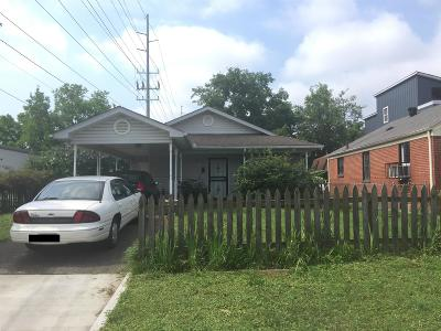 Nashville Rental Under Contract - Not Showing: 1209 Tremont