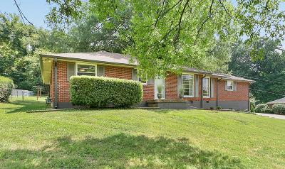 Nashville Single Family Home Under Contract - Showing: 547 Southcrest Dr