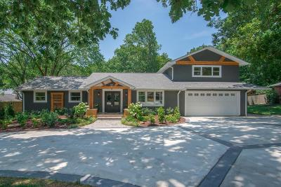 Davidson County Single Family Home For Sale: 745 Brook Hollow Rd
