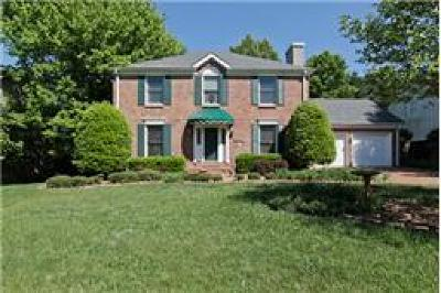 Franklin Single Family Home For Sale: 612 Overview Ln