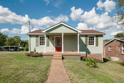 Nashville Single Family Home Under Contract - Not Showing: 5828 Leslie Ave