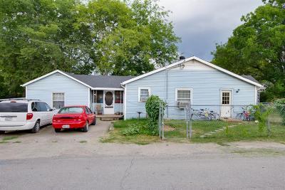 Nashville Single Family Home For Sale: 6220 Robertson Ave