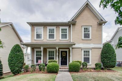 Franklin Single Family Home For Sale: 1526 Liberty Pike