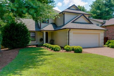 Franklin Single Family Home Under Contract - Not Showing: 1112 Wedgewood Dr
